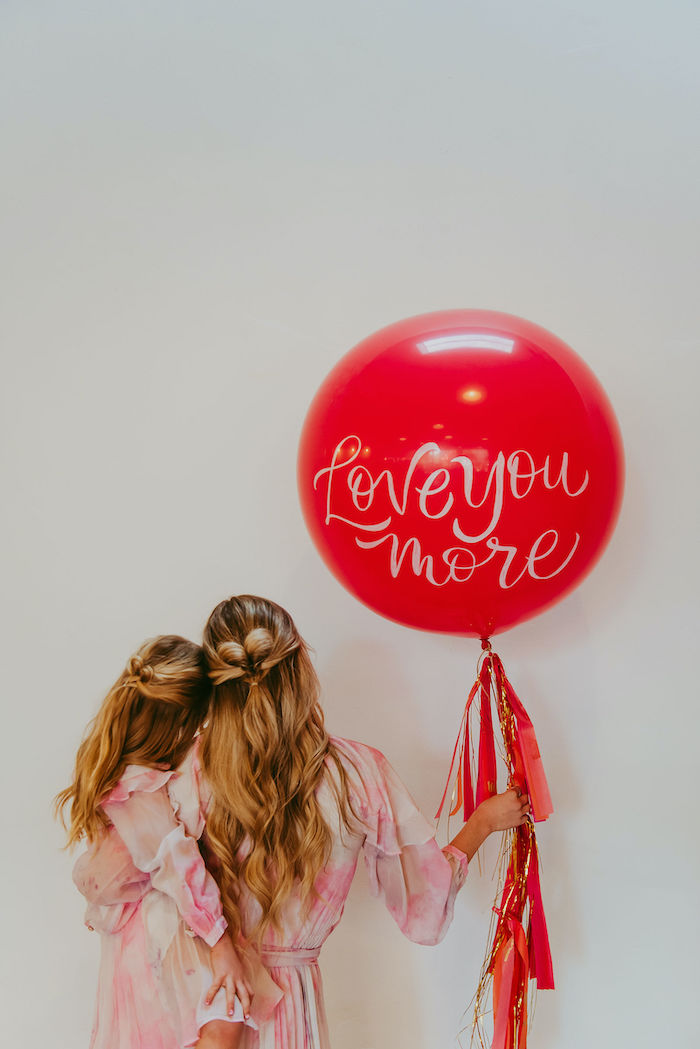 Posh Mother-Daughter GALentine's Day Party on Kara's Party Ideas | KarasPartyIdeas.com (38)