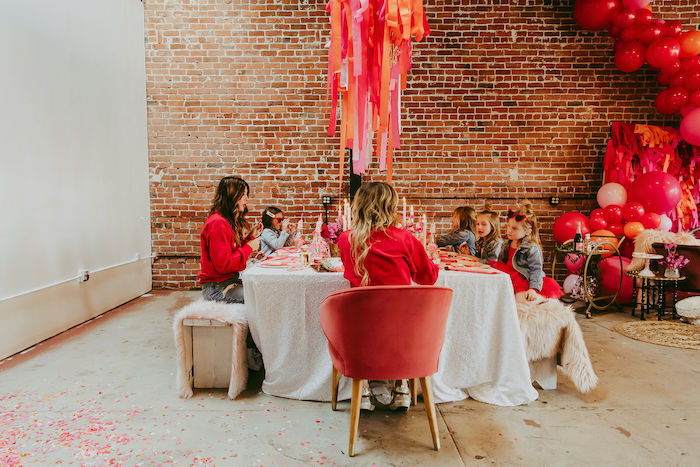 Posh Mother-Daughter GALentine's Day Party on Kara's Party Ideas | KarasPartyIdeas.com (35)