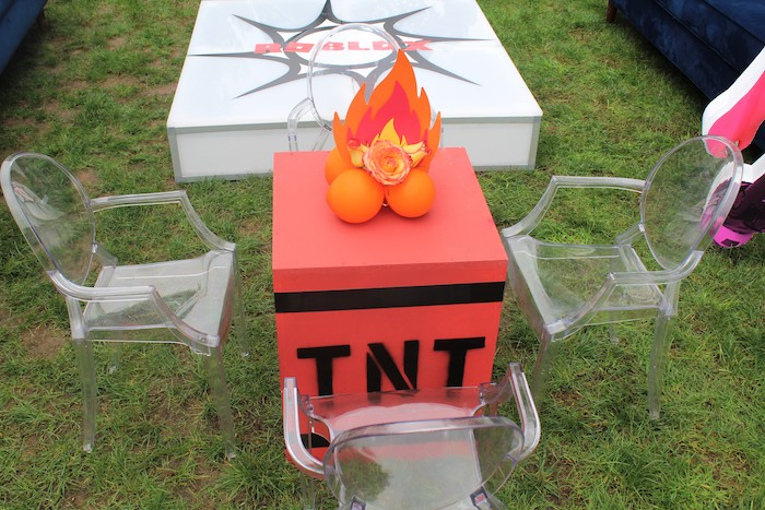 TNT Table from a Roblox Museum Heist Birthday Party on Kara's Party Ideas | KarasPartyIdeas.com (26)