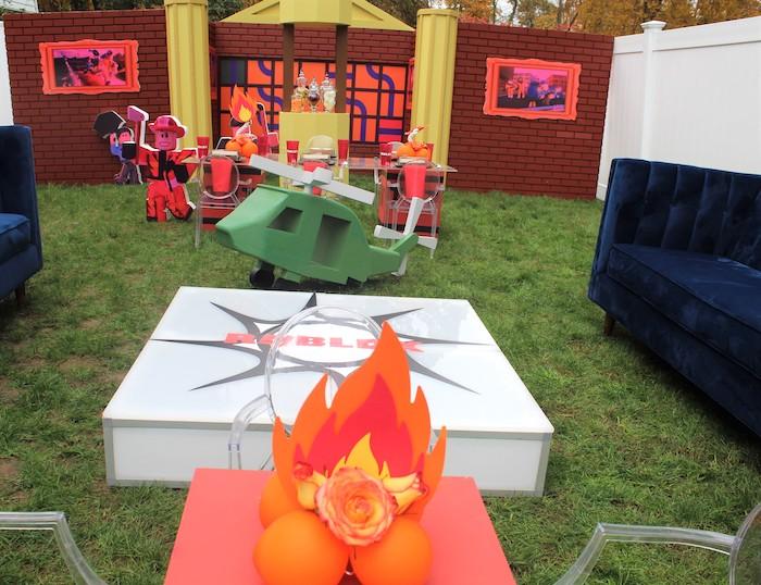 Roblox Museum Heist Birthday Party on Kara's Party Ideas | KarasPartyIdeas.com (25)