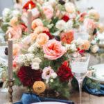 Romantic Outdoor Valentine's Day Dinner on Kara's Party Ideas | KarasPartyIdeas.com (1)