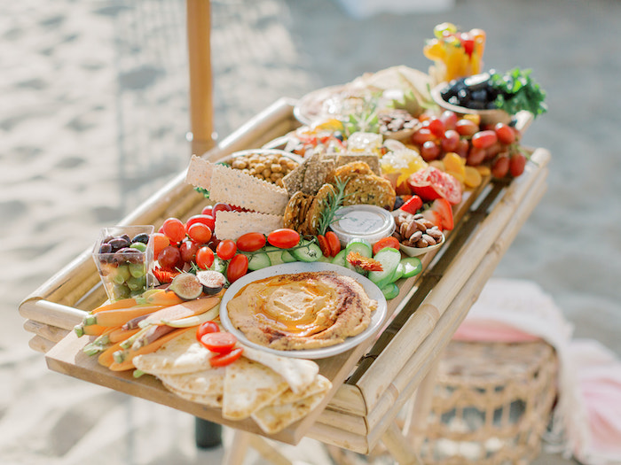 Charcuterie Board from a Seaside Birthday Brunch on Kara's Party Ideas | KarasPartyIdeas.com (30)