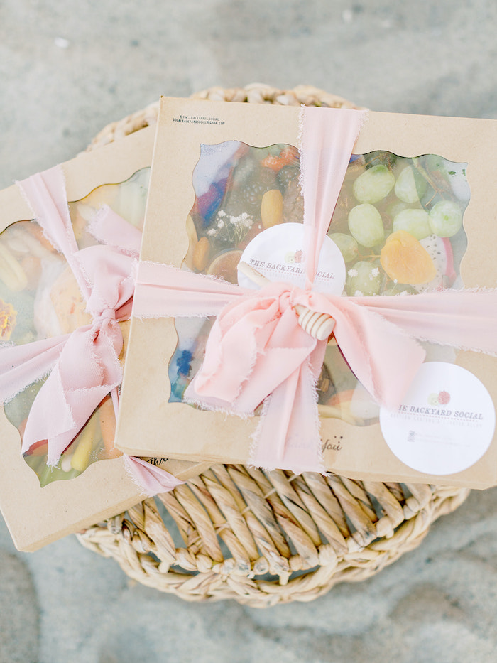 Window Favor Box with Personal Charcuterie Spread from a Seaside Birthday Brunch on Kara's Party Ideas | KarasPartyIdeas.com (26)