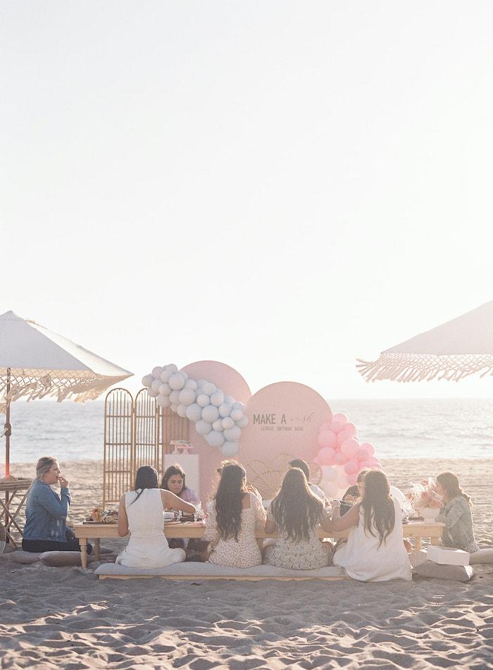 Seaside Birthday Brunch on Kara's Party Ideas   KarasPartyIdeas.com (38)