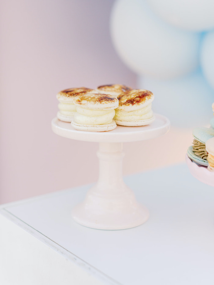 Macarons/Cookies from a Seaside Birthday Brunch on Kara's Party Ideas | KarasPartyIdeas.com (9)