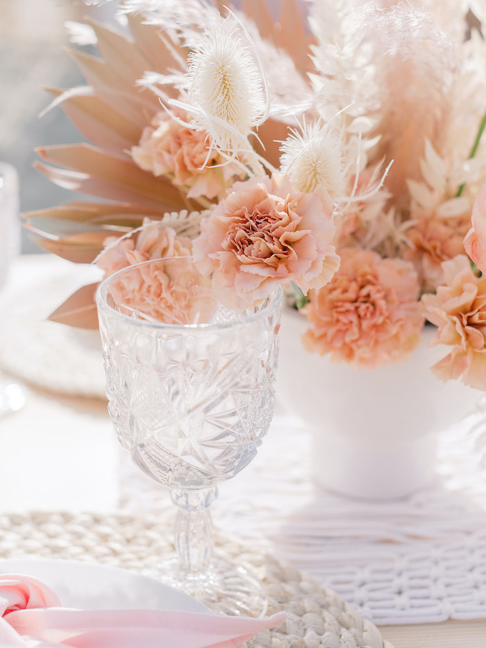 Crystal Goblet from a Seaside Birthday Brunch on Kara's Party Ideas | KarasPartyIdeas.com (36)