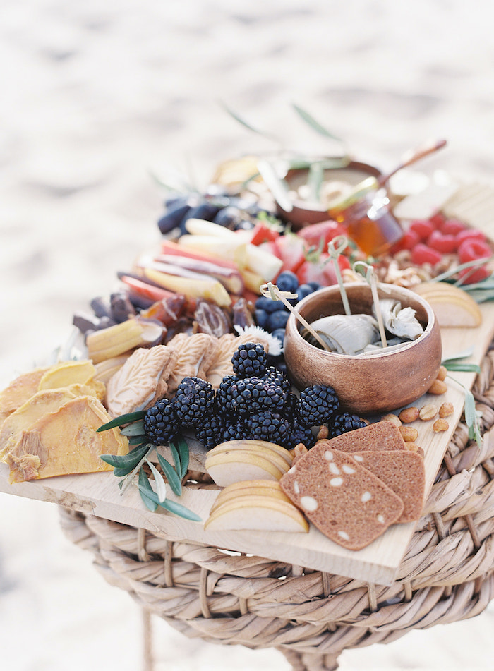 Charcuterie Board from a Seaside Birthday Brunch on Kara's Party Ideas | KarasPartyIdeas.com (33)