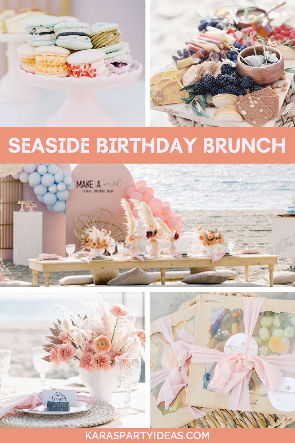 Seaside Birthday Brunch via Kara's Party Ideas - KarasPartyIdeas.com