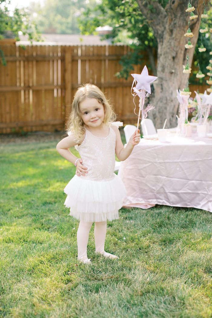 Sweet Pink Ballerina Birthday Party on Kara's Party Ideas | KarasPartyIdeas.com (5)