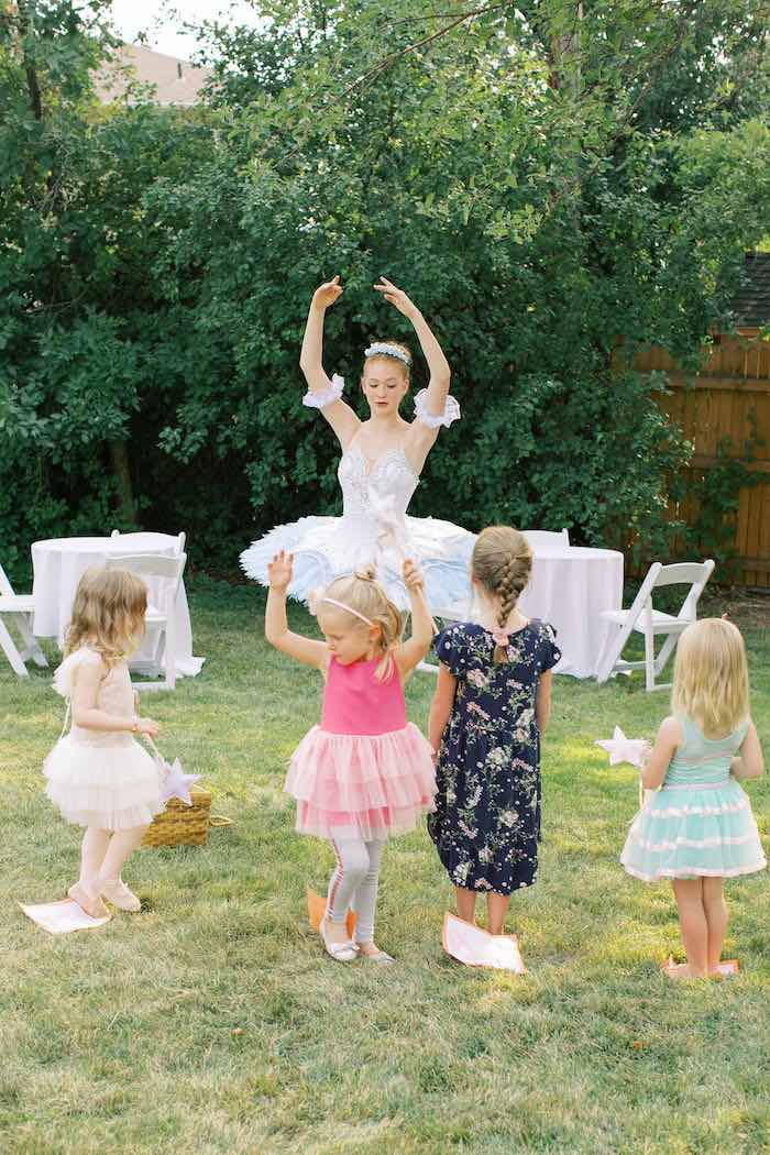 Sweet Pink Ballerina Birthday Party on Kara's Party Ideas | KarasPartyIdeas.com (3)