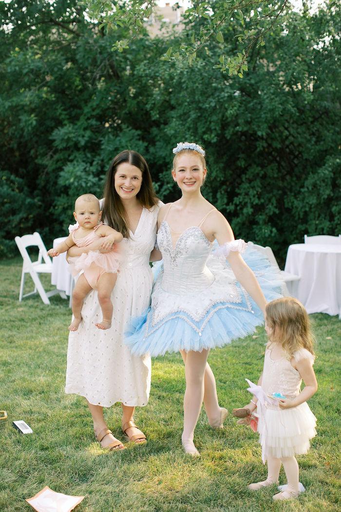 Sweet Pink Ballerina Birthday Party on Kara's Party Ideas | KarasPartyIdeas.com (2)