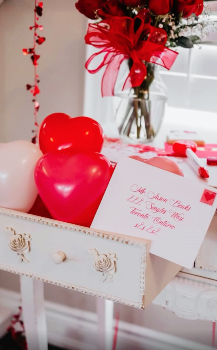 Valentine/Love Letter from a Valentine Cupid Party for Kids on Kara's Party Ideas | KarasPartyIdeas.com (5)