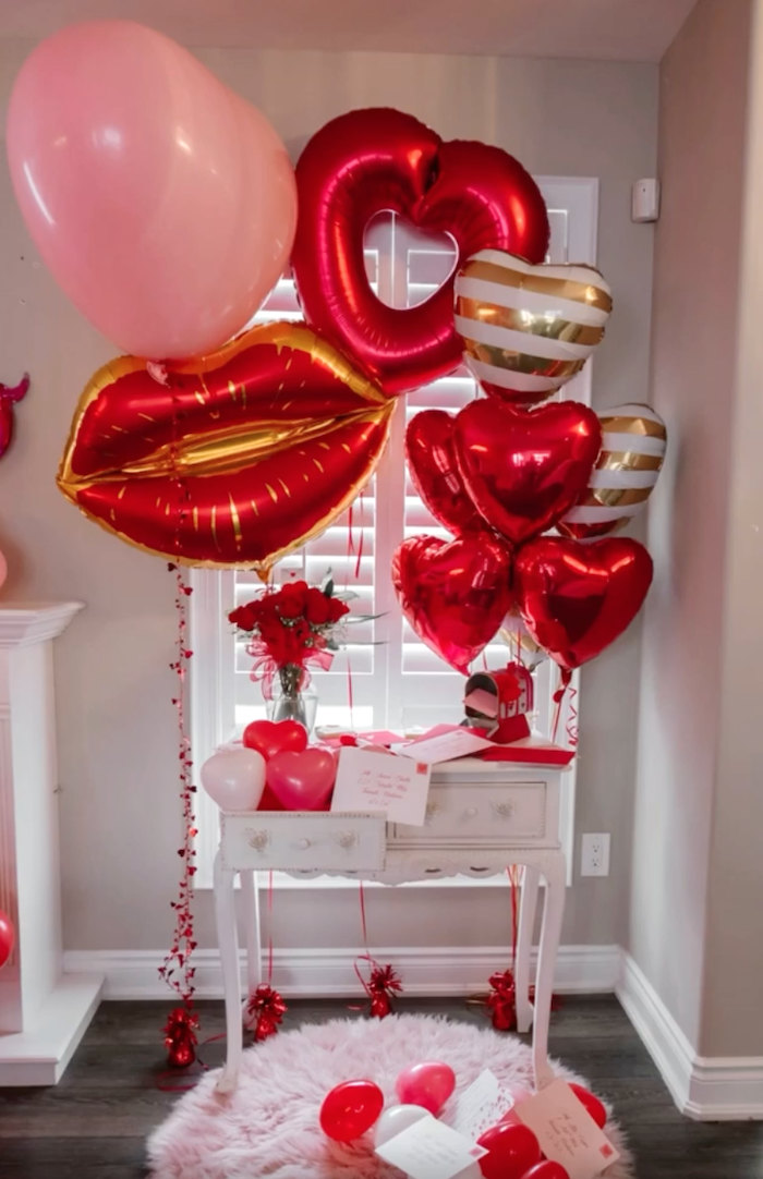 Love Letter Station from a Valentine Cupid Party for Kids on Kara's Party Ideas | KarasPartyIdeas.com (10)