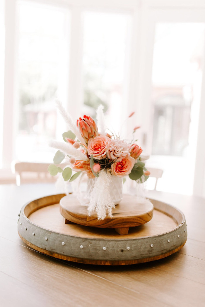 Whimsical Blooms from a Whimsical Modern Baby Shower on Kara's Party Ideas | KarasPartyIdeas.com (23)