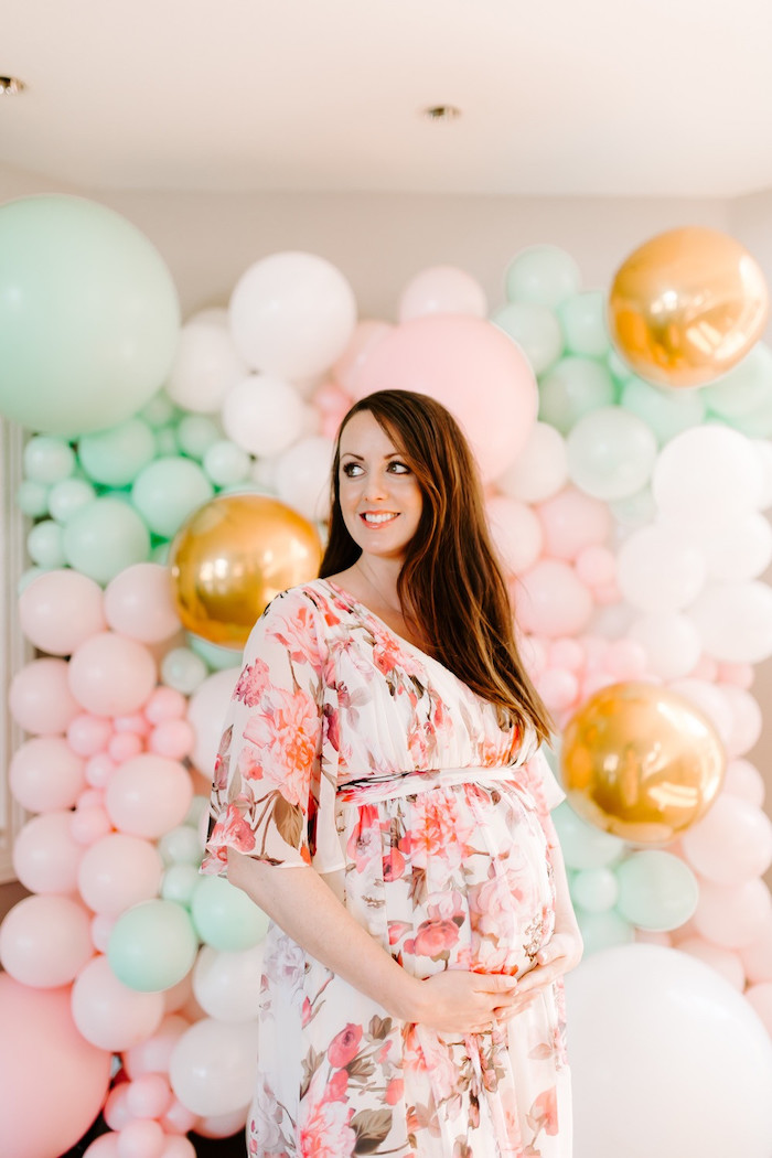 Whimsical Modern Baby Shower on Kara's Party Ideas | KarasPartyIdeas.com (35)