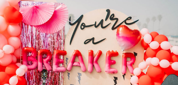"""You're a Heartbreaker"" Rock & Roll Valentine's Day Party on Kara's Party Ideas 
