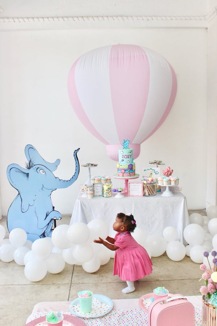 "Dr. Seuss ""Oh the places You'll Go"" Party on Kara's Party Ideas 
