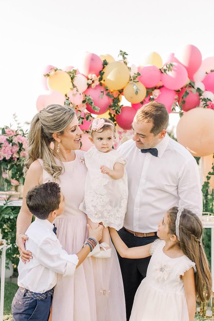Elegant Floral Baptism Party on Kara's Party Ideas | KarasPartyIdeas.com (15)