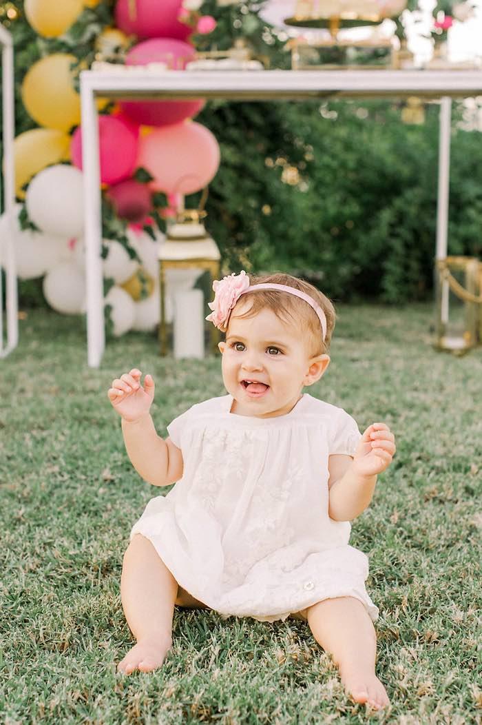 Elegant Floral Baptism Party on Kara's Party Ideas | KarasPartyIdeas.com (14)
