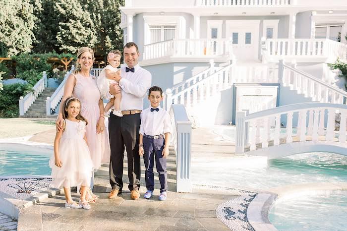 Elegant Floral Baptism Party on Kara's Party Ideas | KarasPartyIdeas.com (10)