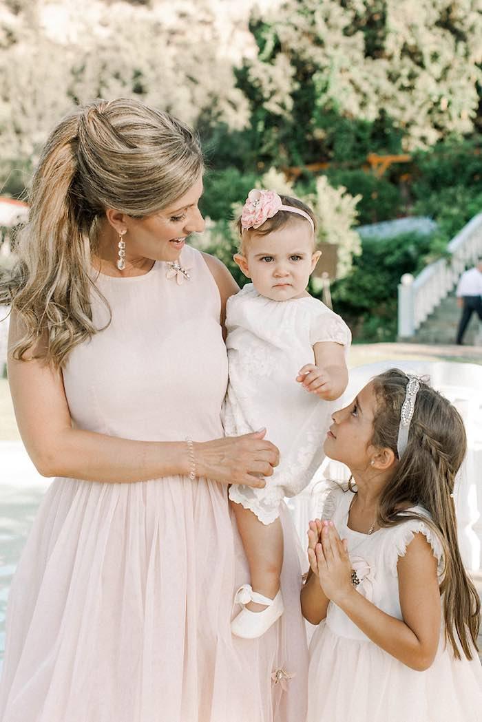 Elegant Floral Baptism Party on Kara's Party Ideas | KarasPartyIdeas.com (29)