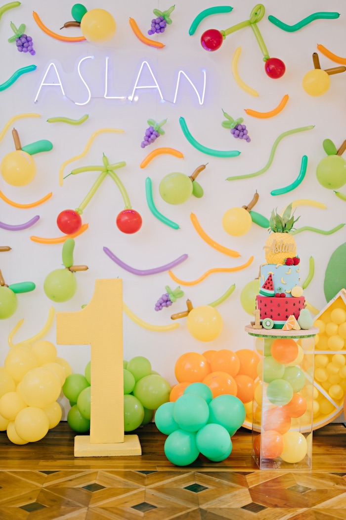 Feelin' Fruity Birthday Party on Kara's Party Ideas | KarasPartyIdeas.com (7)