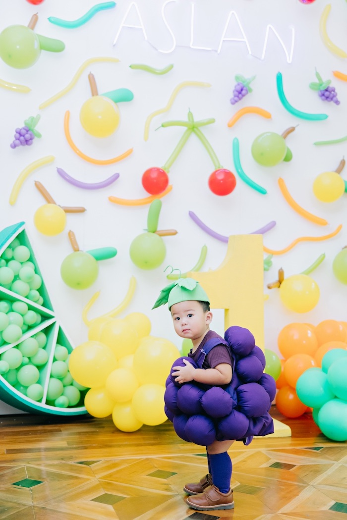 Feelin' Fruity Birthday Party on Kara's Party Ideas | KarasPartyIdeas.com (6)