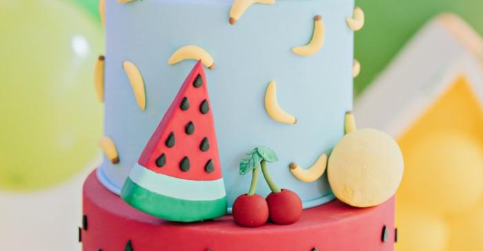 Feelin' Fruity Birthday Party on Kara's Party Ideas | KarasPartyIdeas.com (3)