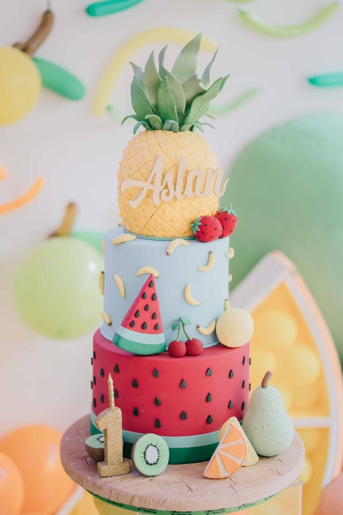 Feelin' Fruity Birthday Party on Kara's Party Ideas | KarasPartyIdeas.com (18)