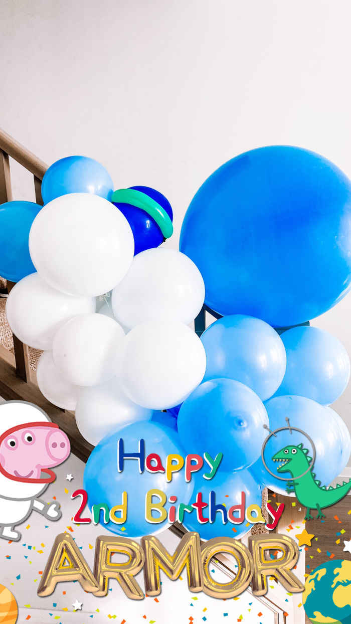 George Pig in Space Birthday Party on Kara's Party Ideas | KarasPartyIdeas.com (4)