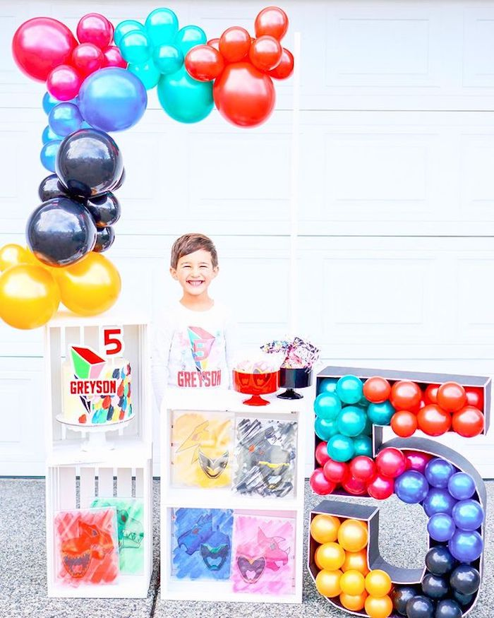 Power Rangers Birthday Party on Kara's Party Ideas | KarasPartyIdeas.com (6)