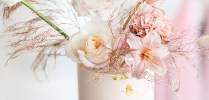 Rustic Floral Teddy Bear Baby Shower on Kara's Party Ideas | KarasPartyIdeas.com (1)