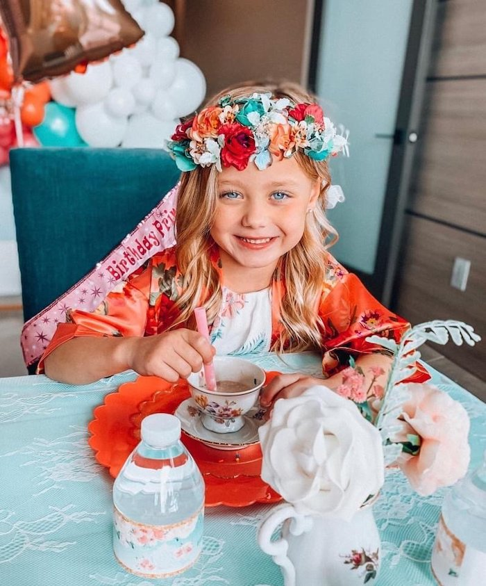 Spa Birthday Tea Party on Kara's Party Ideas | KarasPartyIdeas.com (13)