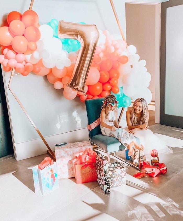 Gift Arena from a Spa Birthday Tea Party on Kara's Party Ideas | KarasPartyIdeas.com (9)