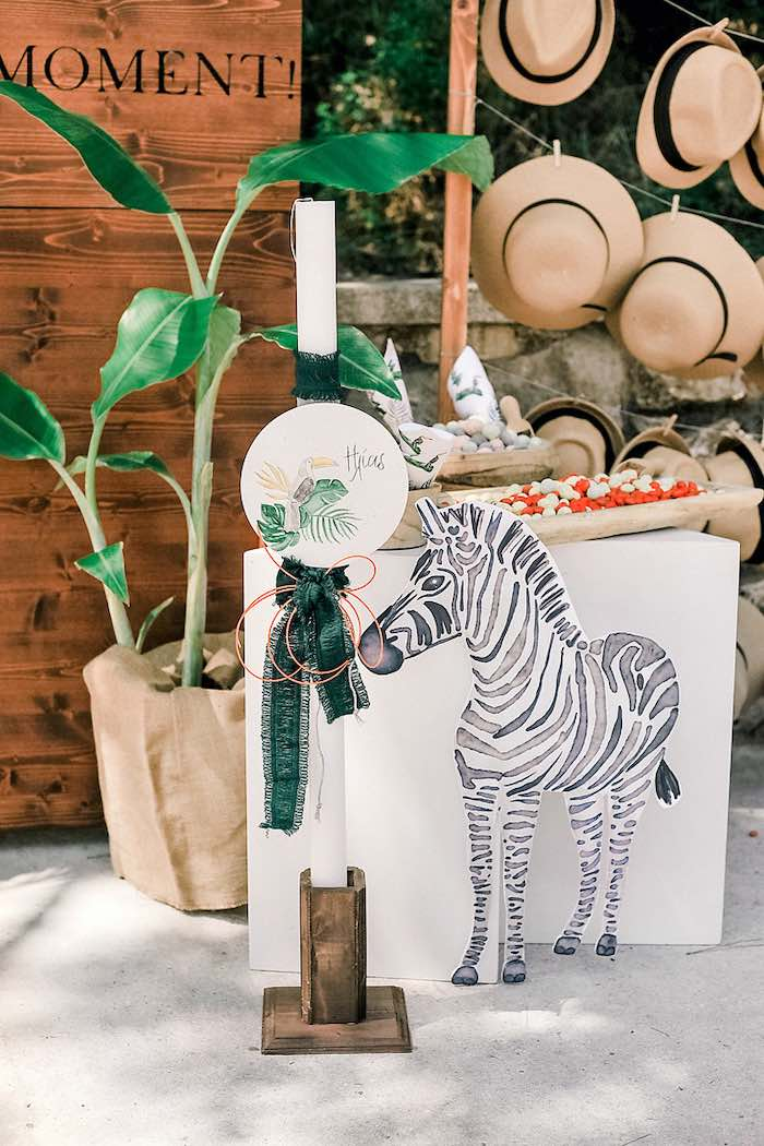 Tropical Baptism Party in Rhodes on Kara's Party Ideas | KarasPartyIdeas.com (40)