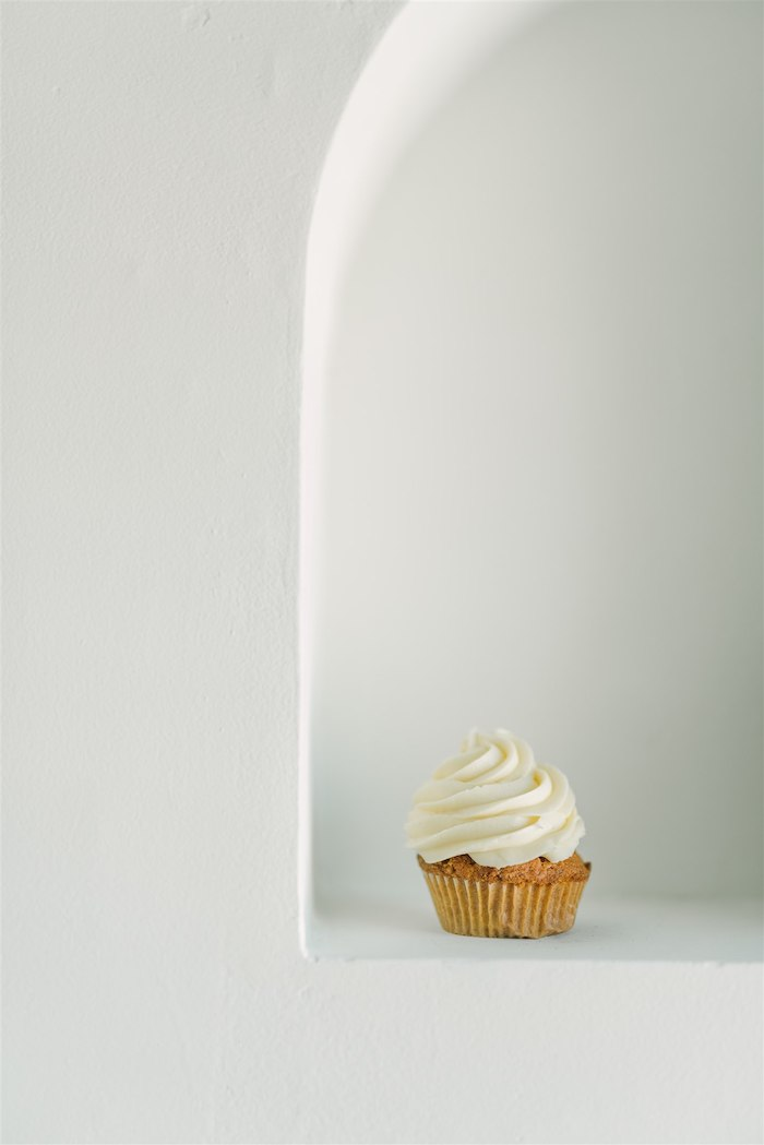 Cupcake from a Tropical Tiki Birthday Party on Kara's Party Ideas | KarasPartyIdeas.com (7)