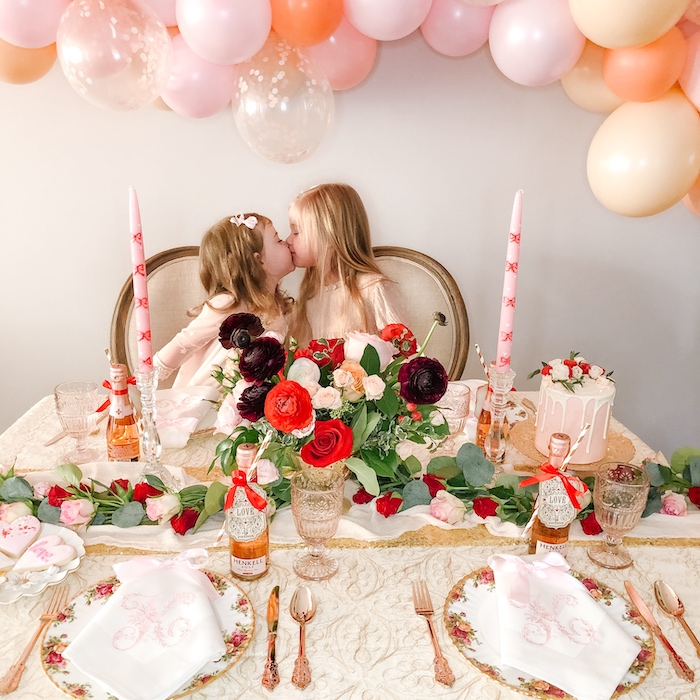 Vintage Valentine's Day Dinner Party on Kara's Party Ideas | KarasPartyIdeas.com (5)