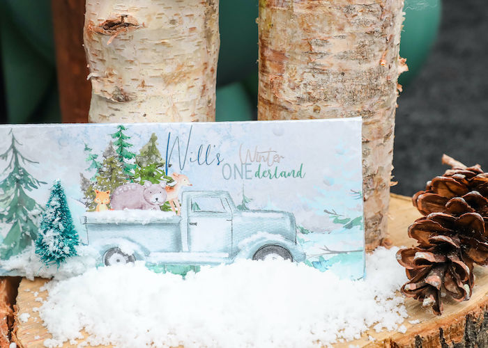 Custom Winter ONEderland Candy Bar Label from a Winter ONEderland Birthday Party on Kara's Party Ideas | KarasPartyIdeas.com (6)