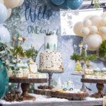 Winter ONEderland Birthday Party on Kara's Party Ideas | KarasPartyIdeas.com (1)