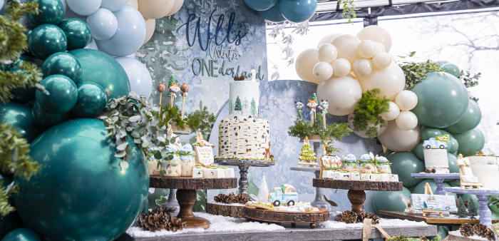 Winter ONEderland Birthday Party on Kara's Party Ideas | KarasPartyIdeas.com (1)