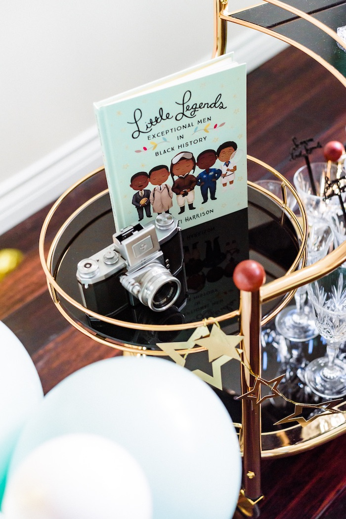 "Little Legends Book from a ""Little Legends, Exceptional Men in Black History"" Birthday Party on Kara's Party Ideas 