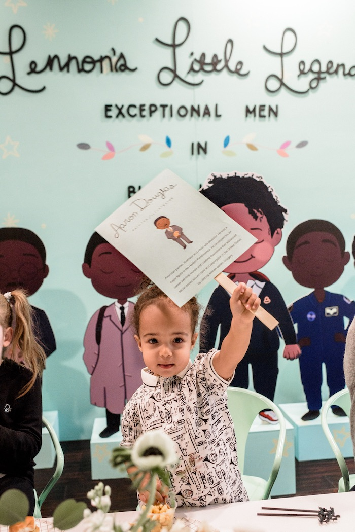 """Little Legends, Exceptional Men in Black History"" Birthday Party on Kara's Party Ideas 