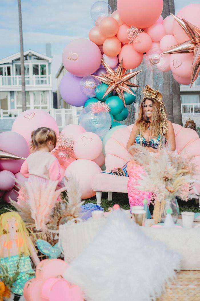 Boho Mermaid Party on Kara's Party Ideas | KarasPartyIdeas.com (16)