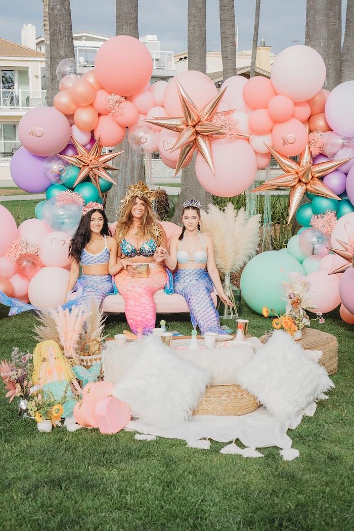 Boho Mermaid Party on Kara's Party Ideas | KarasPartyIdeas.com (15)