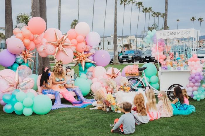 Boho Mermaid Party on Kara's Party Ideas | KarasPartyIdeas.com (10)