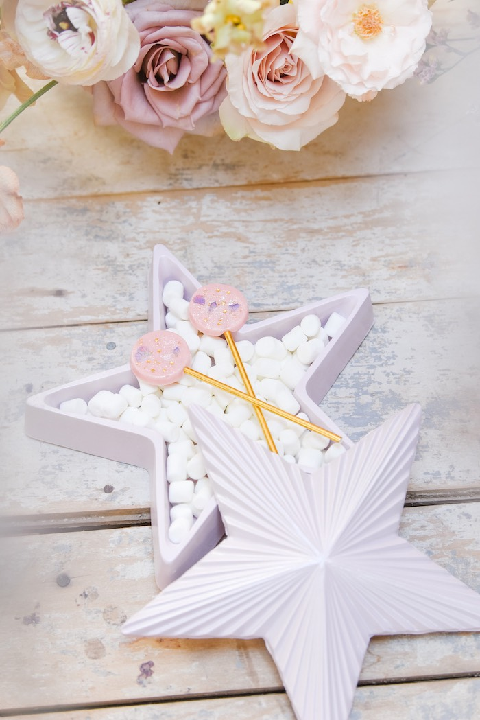 Star Candy Dish from a Boho Pastel Easter Party on Kara's Party Ideas | KarasPartyIdeas.com (21)