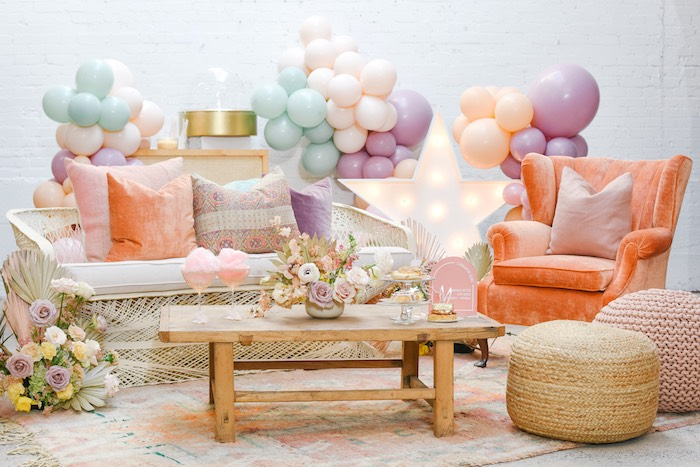 Boho Pastel Easter Party on Kara's Party Ideas | KarasPartyIdeas.com (9)