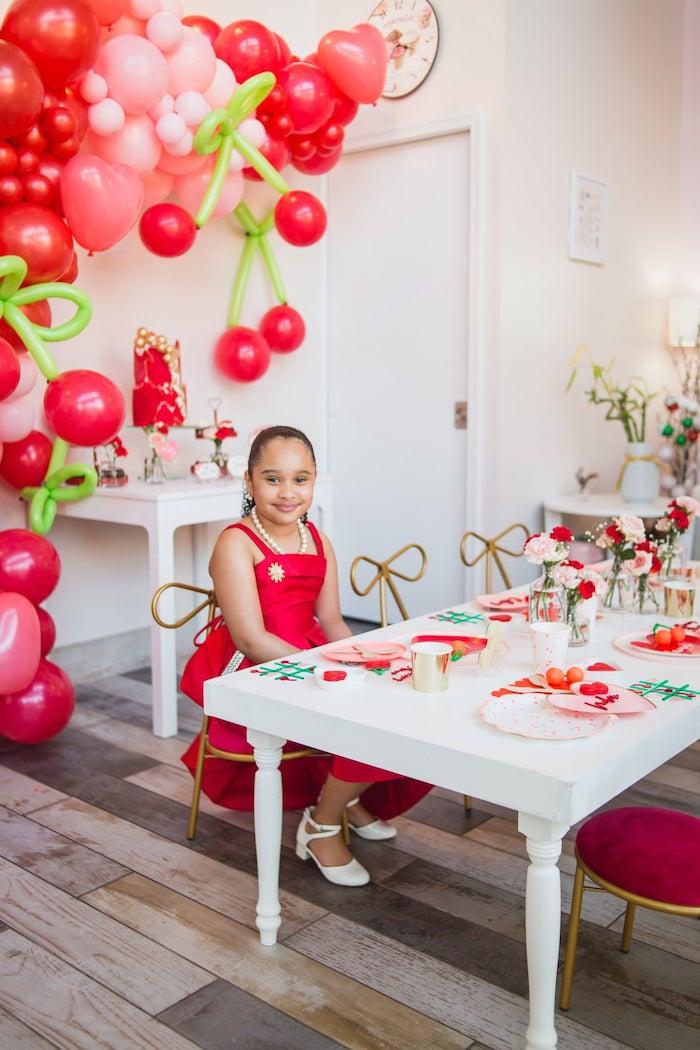 Cherry Love Party on Kara's Party Ideas | KarasPartyIdeas.com (10)