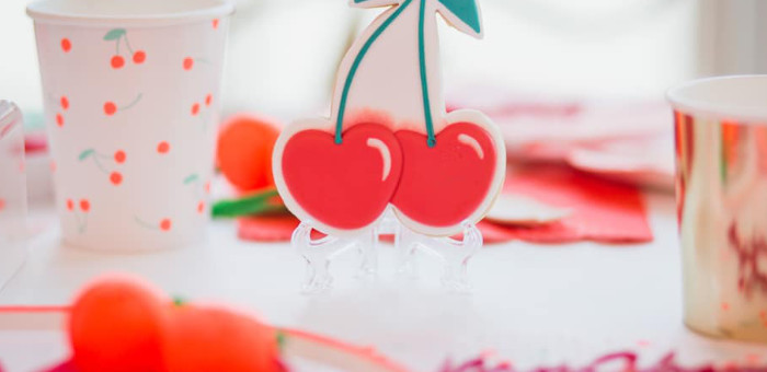 Cherry Love Party on Kara's Party Ideas | KarasPartyIdeas.com (1)