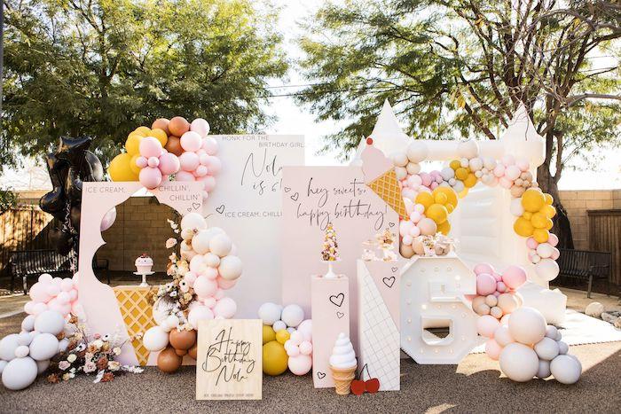 Drive-by Ice Cream Party on Kara's Party Ideas | KarasPartyIdeas.com (19)